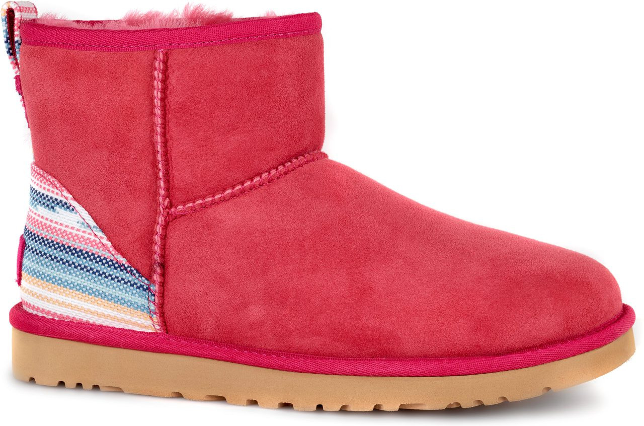 ... Ankle Boots; UGG Women's Classic Mini Serape. Cream · Cream · Seal ·  Skyline · Sunset Red