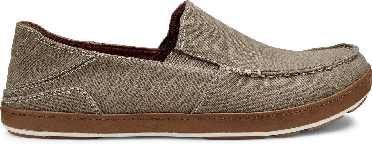 ... OluKai Men's Puhalu Canvas. Clay/Toffee