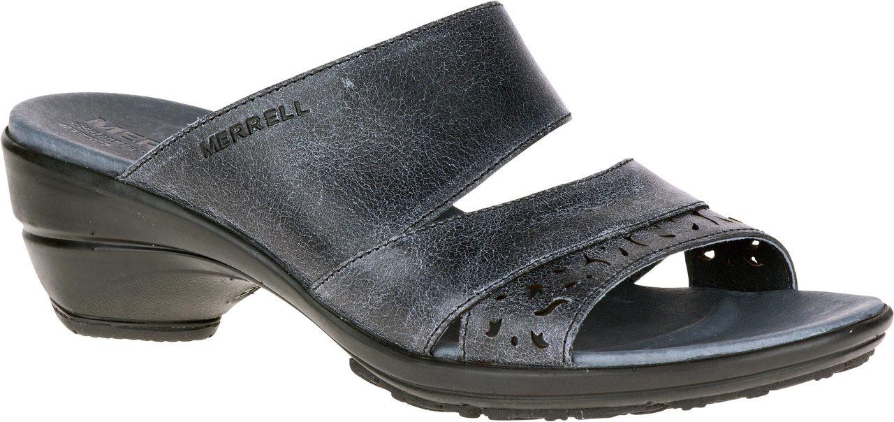 ... Sandals; Merrell Women's Veranda Eve Slide. Black