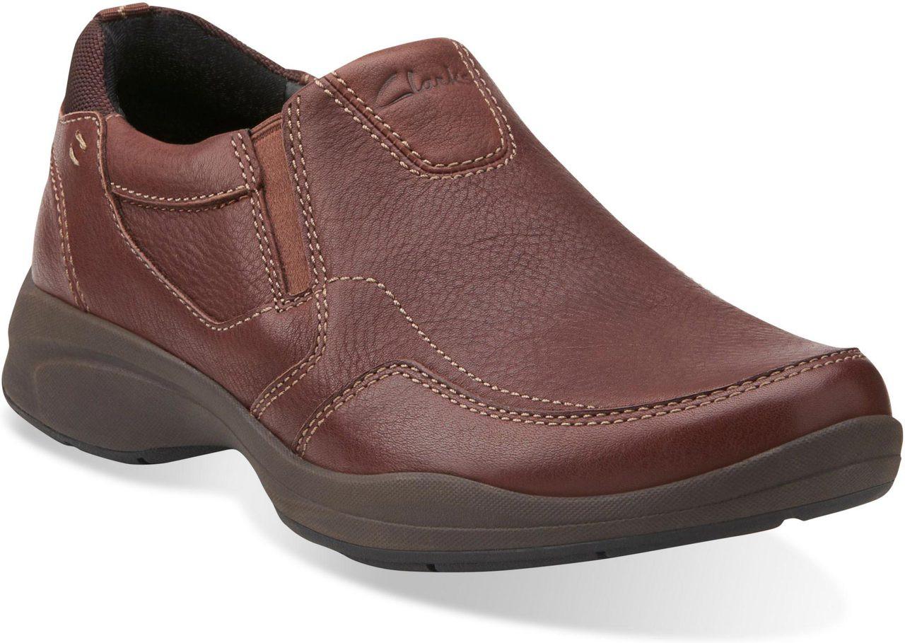 Clarks Wave Korey Free Mens Brown Leather shv0Wg Uz