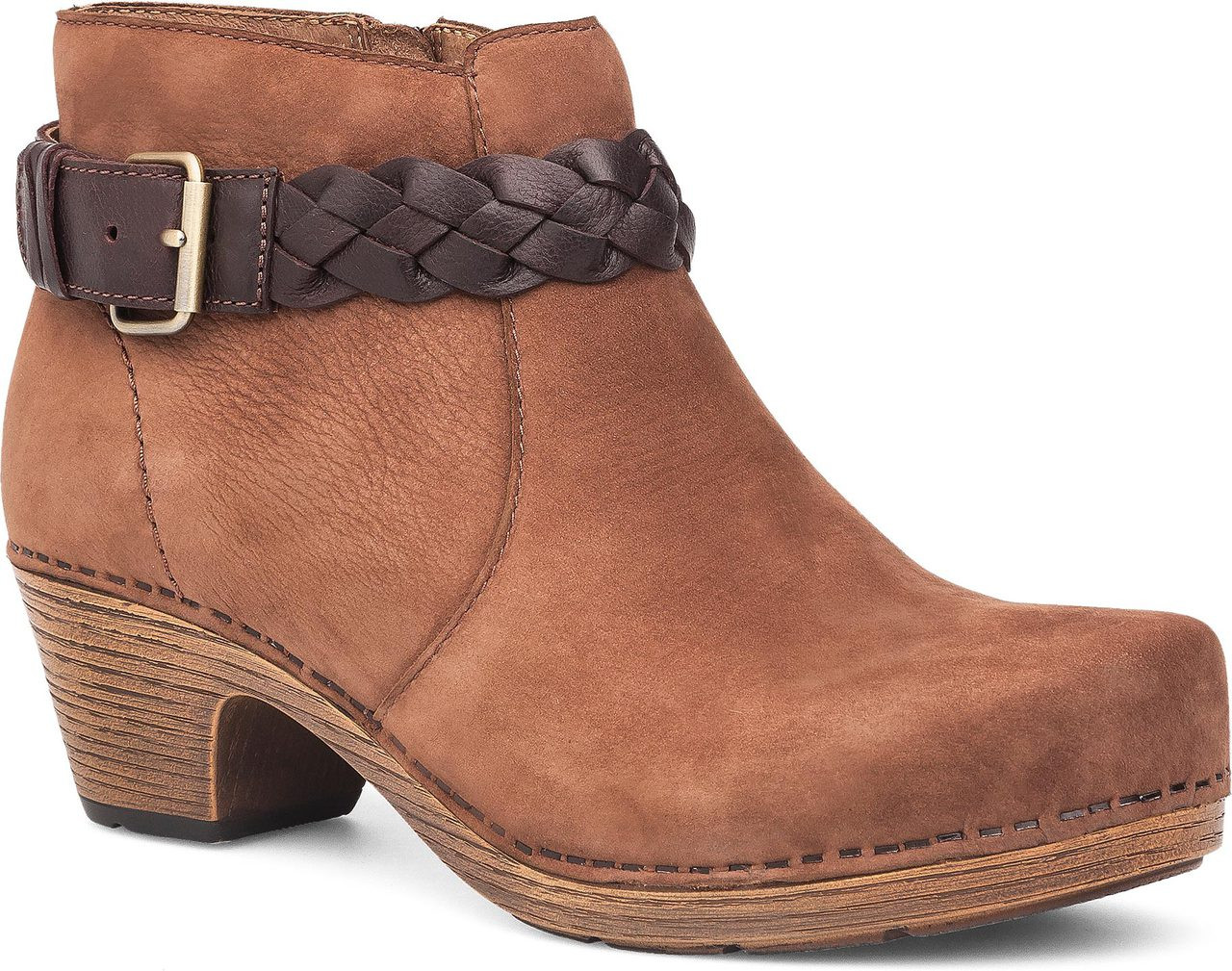 Home · Women's Clearance Shoes · Boots; Dansko Michelle. Amber Milled Nubuck  Leather