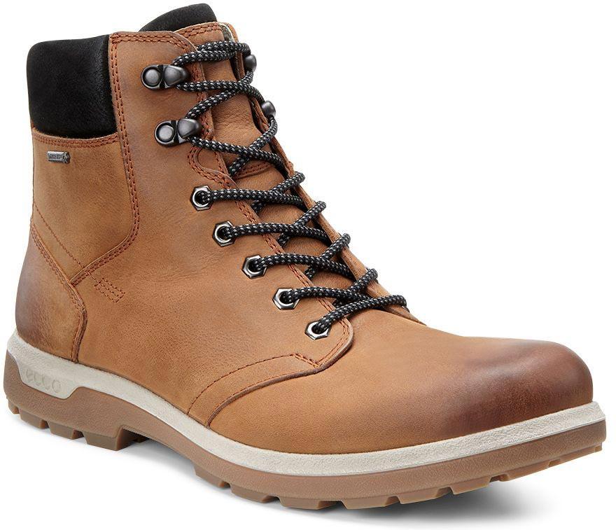 Ecco Mens Amber Black Boots Whistler Gtx