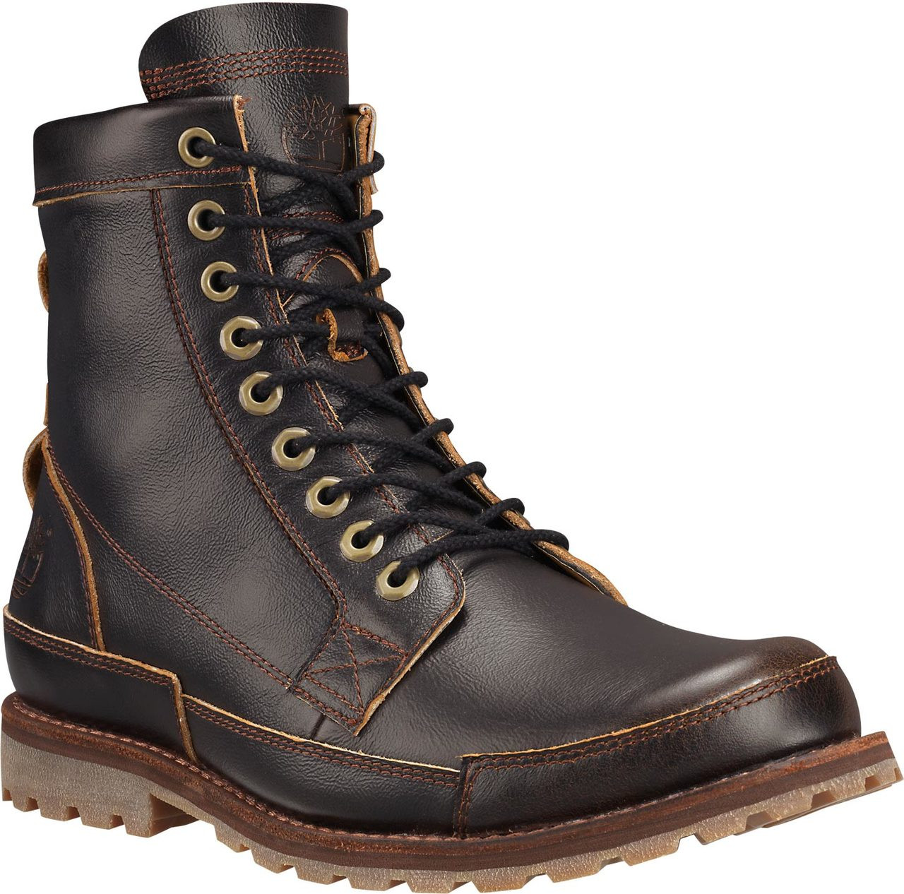 Timberland Mens Earthkeepers Original Leather 6Inch Dark Brown