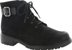 Black Tumbled Nubuck