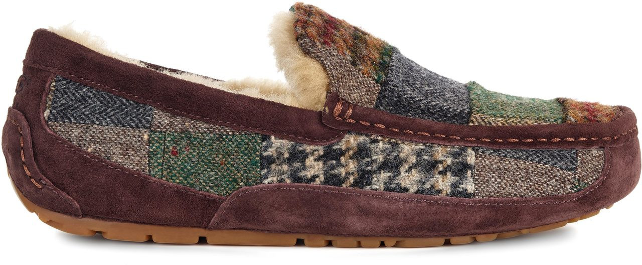 Slippers UGG Mens Ascot Patchwork Patchwork