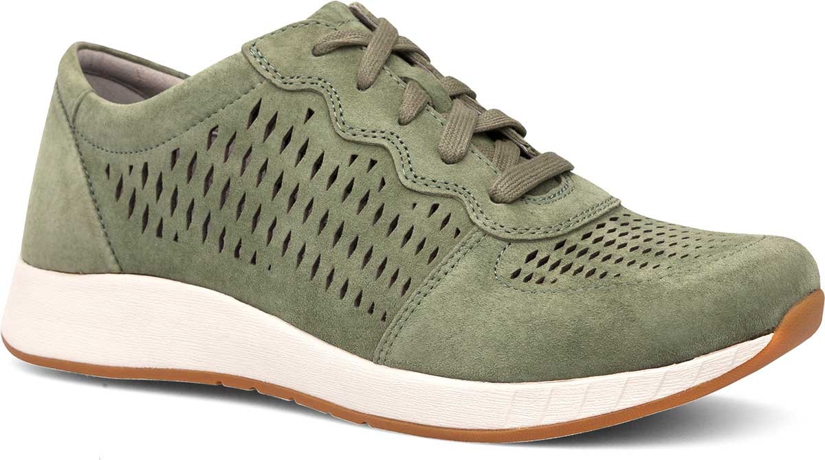 Sage Suede Leather