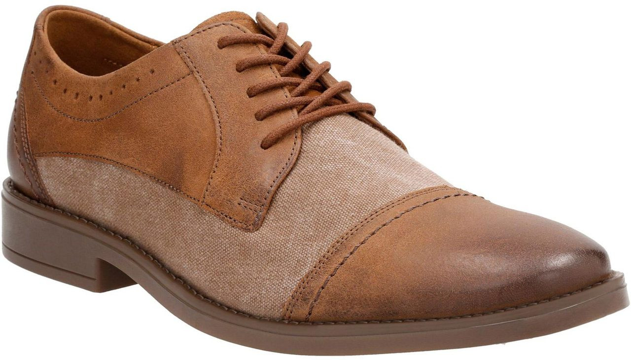 Clarks Men's Garren Cap Toe Oxford