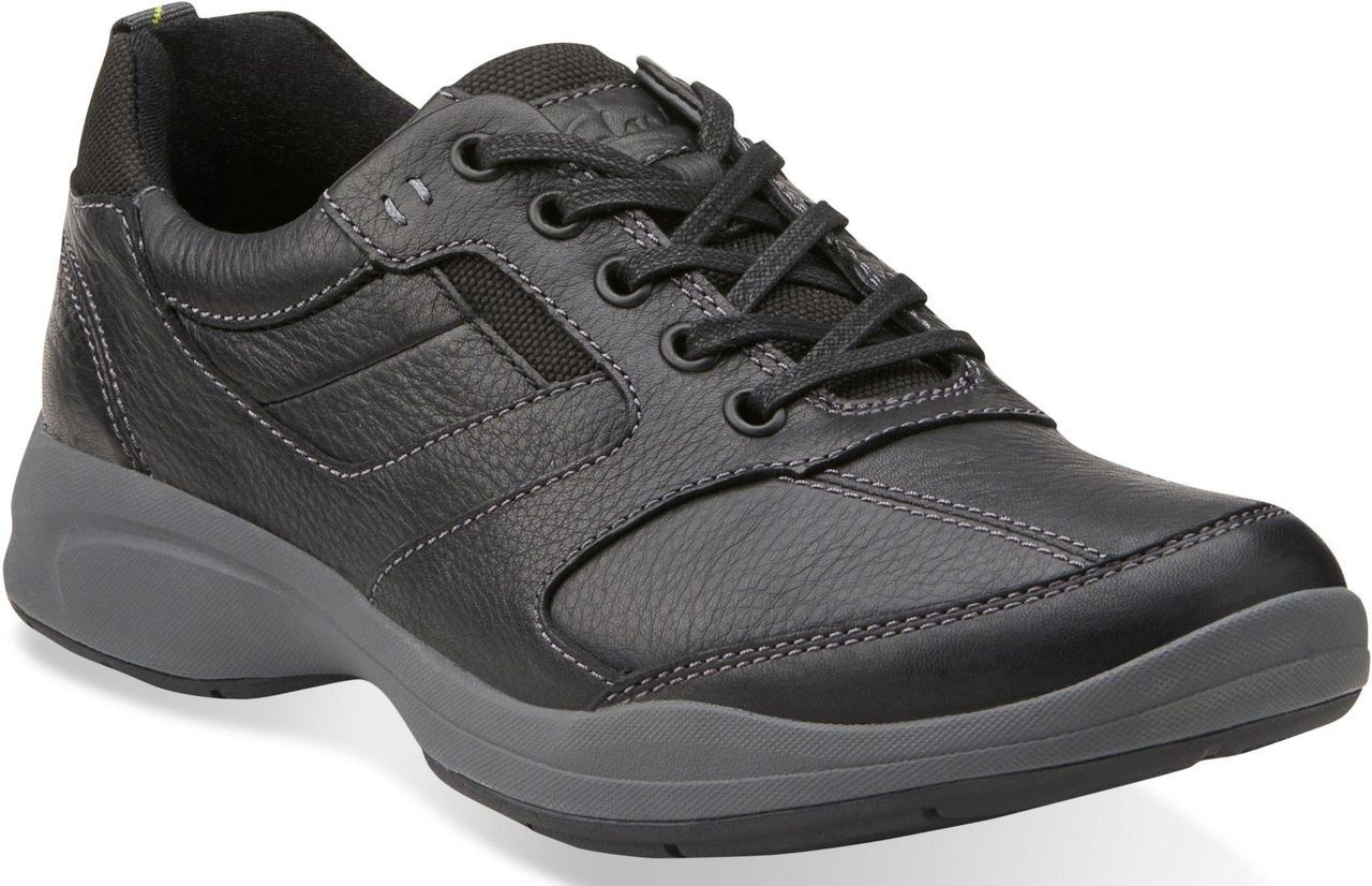 ... Sneakers & Athletic; Clarks Wave Men's Wave.Korey Fly. Black Leather