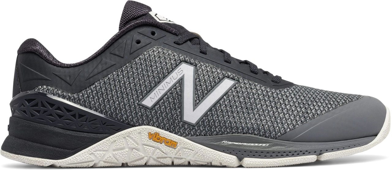 ... New Balance Men's Minimus 40 Trainer. Black with White · Black with  White · Grey