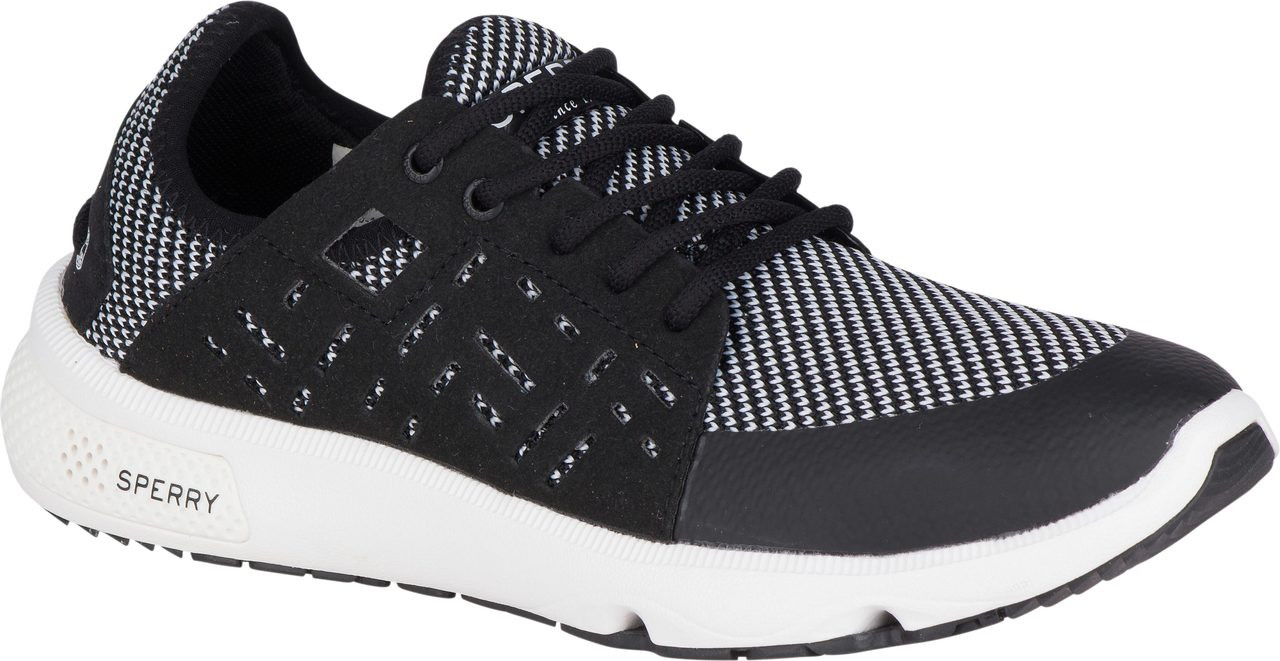 ... Sneakers & Athletic; Sperry Women's 7 Seas Sport. Black · Black · Grey