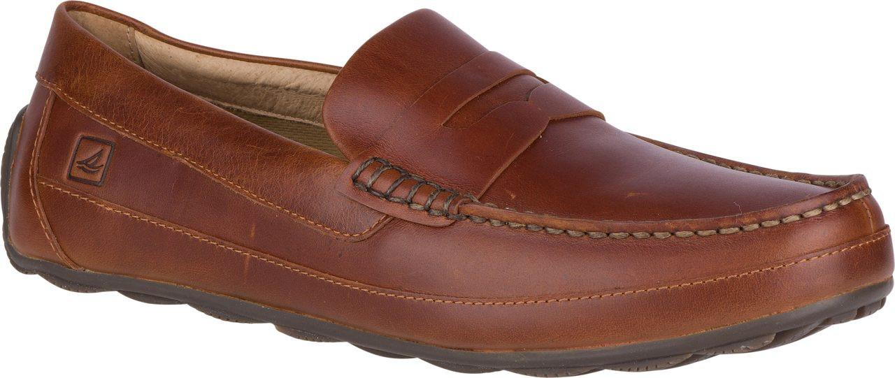 Sperry Hampden Penny Men's Tan shoes onlin hot sale