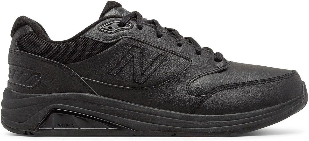 ... Sneakers \u0026 Athletic; New Balance Men\u0027s 928v3 Leather. Black � Black �  White