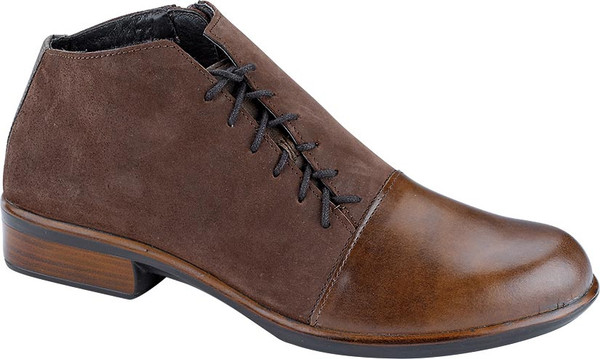 Pecan Brown/Coffee Bean Nubuck/ Vintage Fog