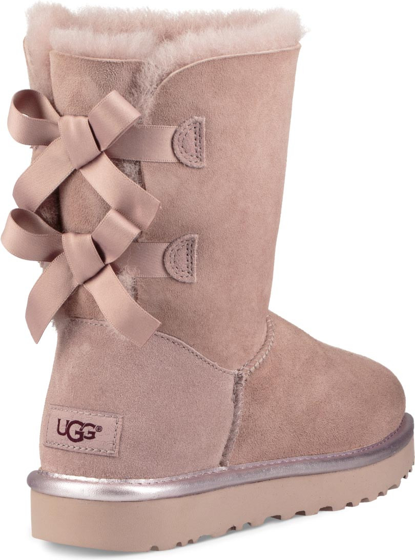 ugg bailey bow metallic