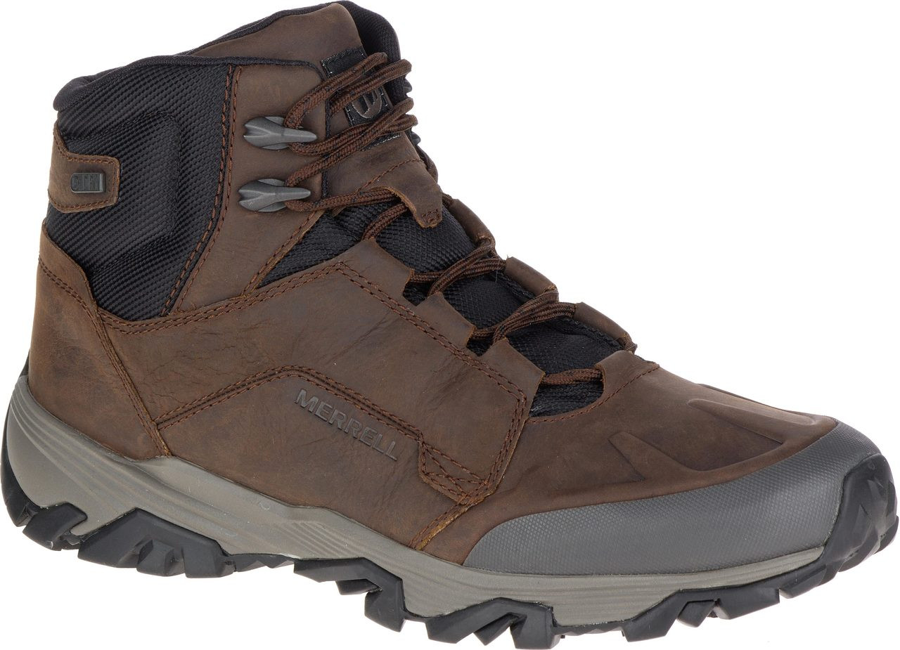 Merrell COLDPACK ICE MID WATERPROOF - Walking boots - clay nNUCK7hNJC