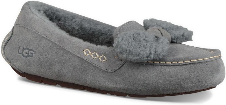 UGG ANSLEY BOW - Slippers - geyser
