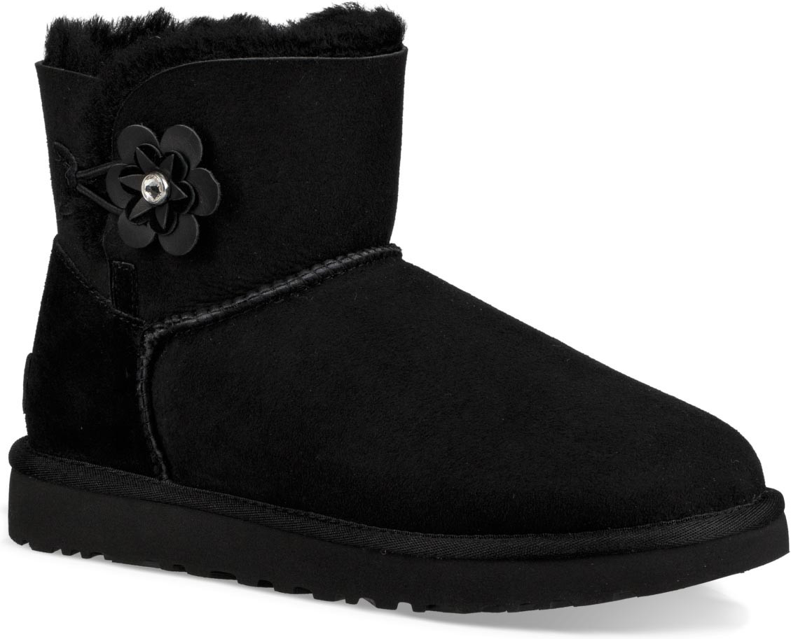 UGG Damen Boots Mini Bailey Petal 1019190-BLK 40