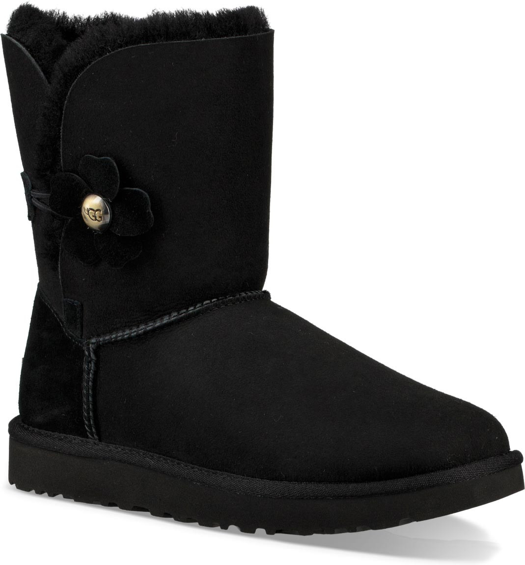 UGG® Bailey Button Poppy (Women's) SuZr8Y9a