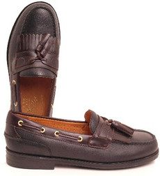 Sperry Top-Sider Men's Gold Tassel, Black Amaretto