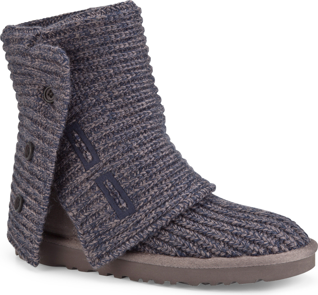 Ugg Womens W Classic Cardy Boots Navy Mit Hillel