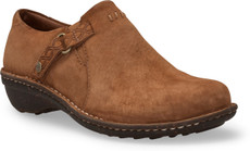 Chestnut Suede Leather