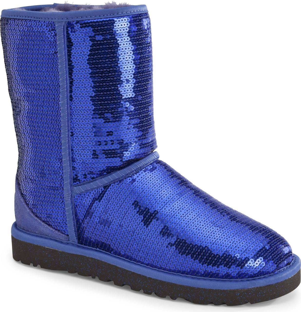 Electric Blue Boots