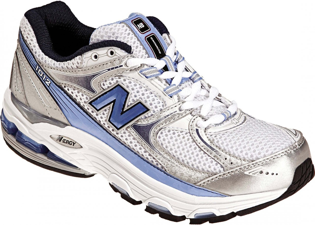 New Balance - Mens 1012 Motion Control Running Shoes, UK: 7 UK - Width D, White with Grey & Navy