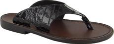 Black Patent Croc