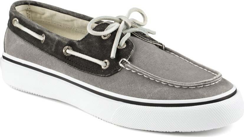 ... Boat Shoes; Sperry Top-Sider Men's Bahama 2-Eye. Grey/Black