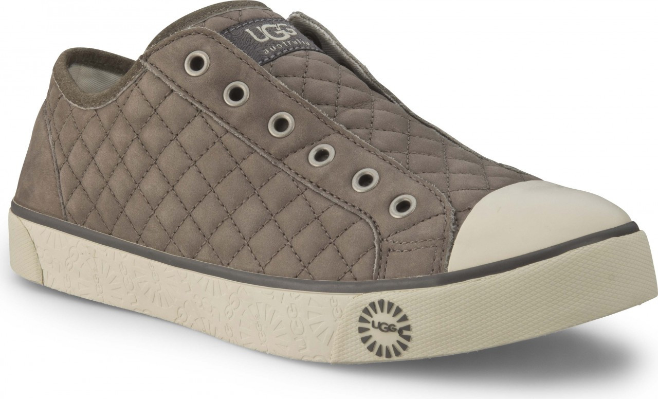 ugg australia womens laela quilted casual shoes