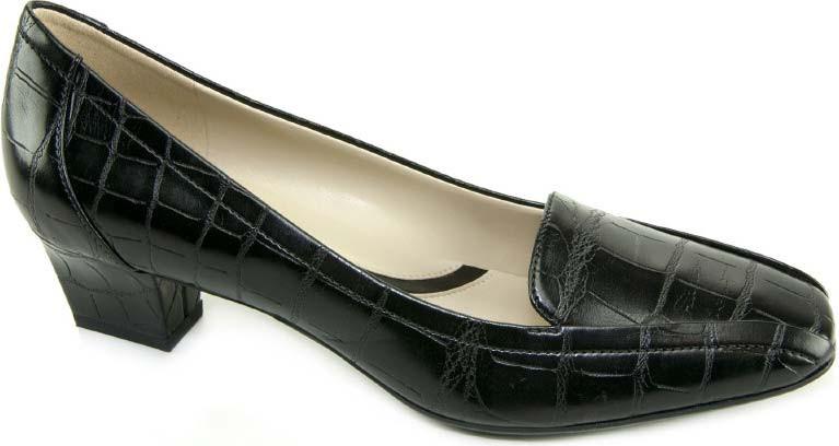 Black Croco Emboss