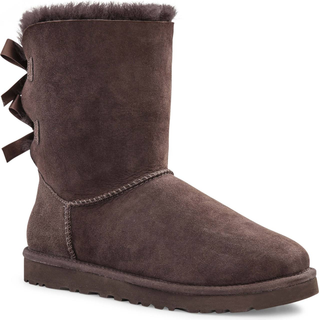 ... ugg australia womens bailey bow. bilberry. bilberry black blue jay chestnut chocolate