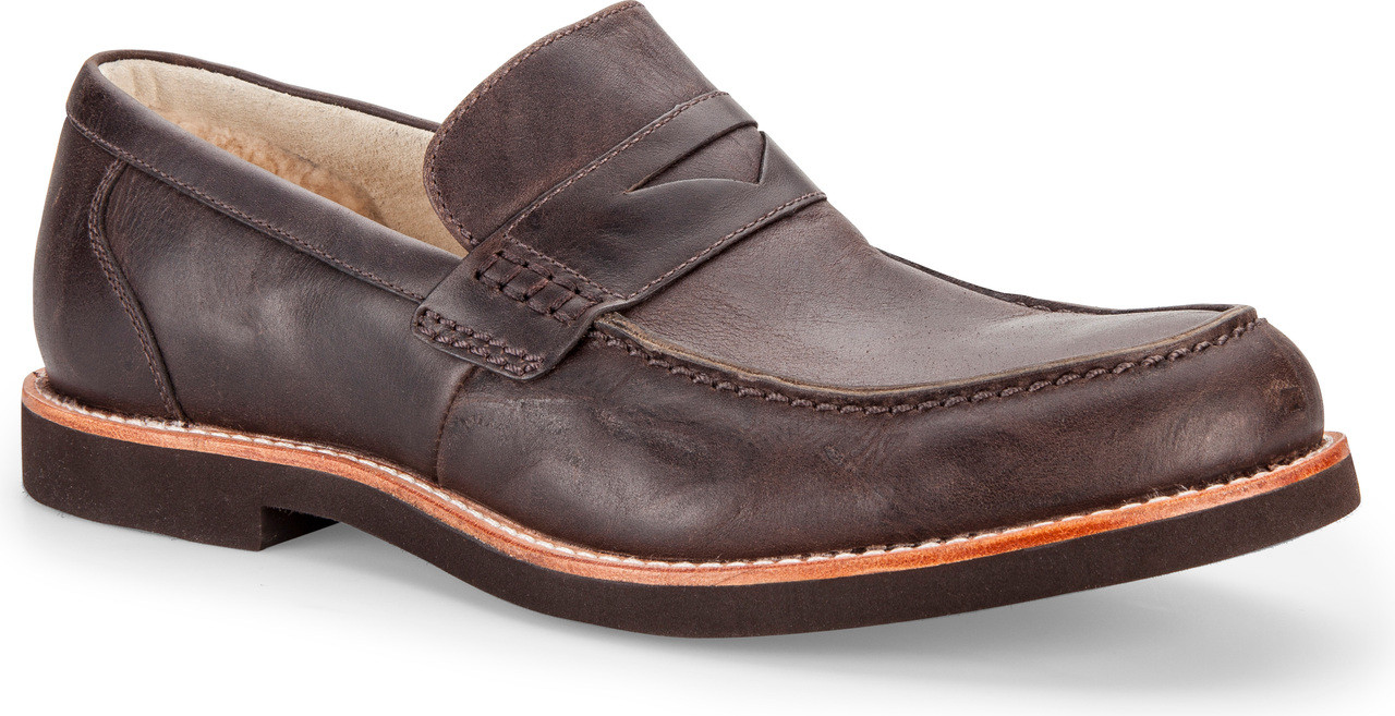 Mens Shoes UGG Barren Chocolate Leather