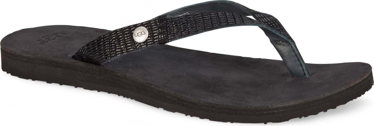 Ugg Ally Flip Flops Black