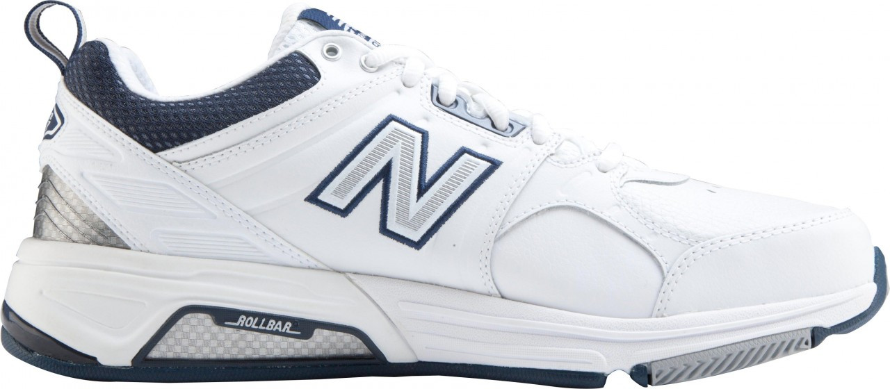 ... Sneakers & Athletic; New Balance Men's 857, White with Navy. White with  Navy