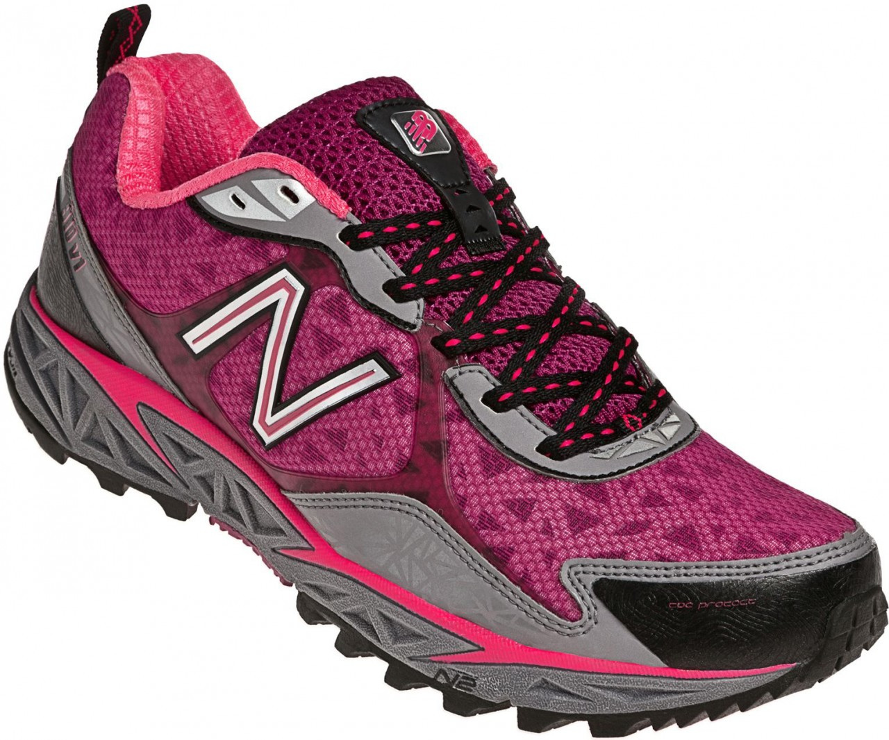 New Balance Women s 910, Grey with Pink