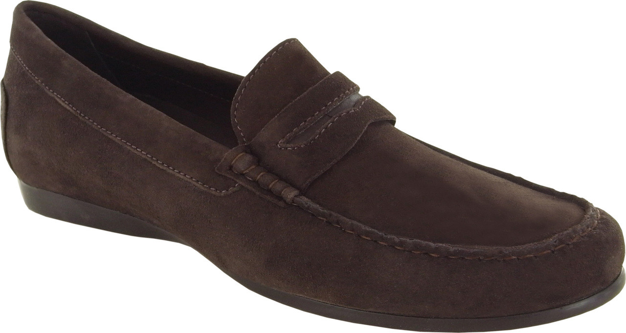 Brown Kid Suede