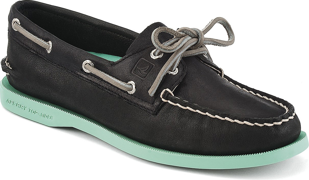 Black Cheetah Sperrys