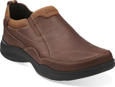 Clarks Wave Tackle Mens Slip On Loafers Shoes