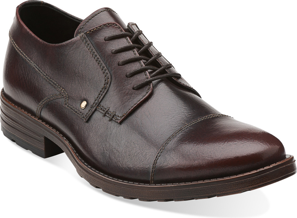 ... Dress Shoes · Oxfords; Clarks Men's Denton Cap (Available in Multiple  Colors). Black Leather. Black Leather; Burgundy Brushed Off Leather ...