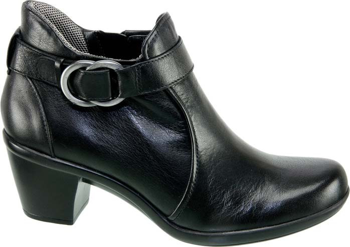 ... Ankle Boots; Naturalizer Elyse, Black Leather. Black Leather