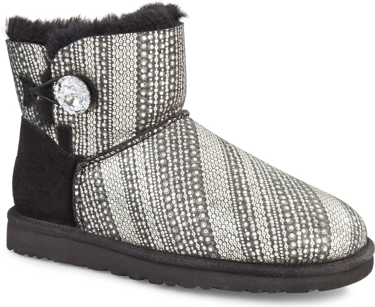 ugg australia bailey button bling womens boots