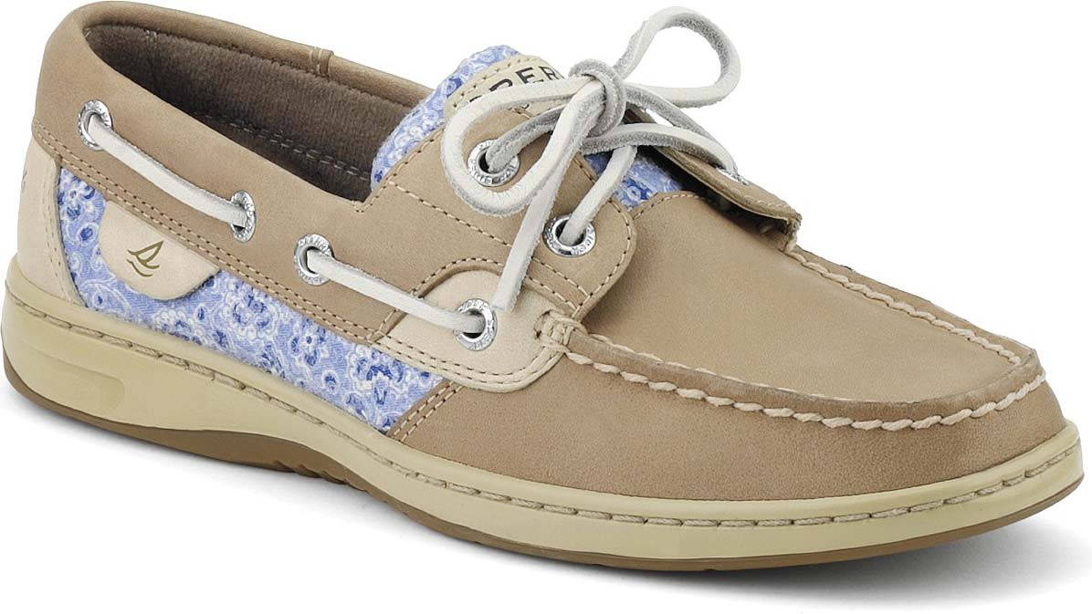 ... Casual Shoes · Boat Shoes; Sperry Top-Sider Women's Sequin Bluefish 2- Eye (Available in Multiple Colors). Linen/Blue Floral Sequin