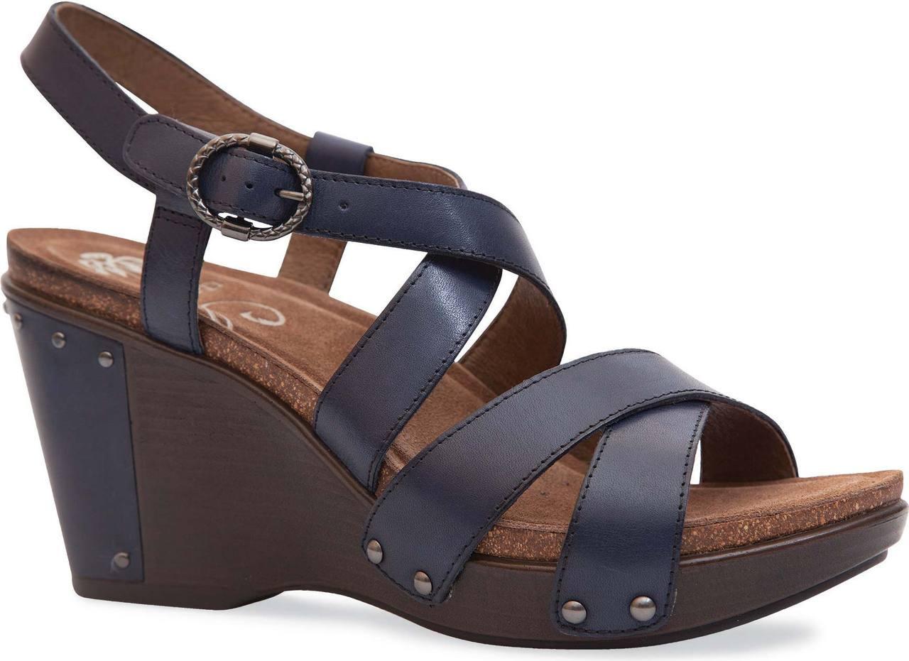 Black dansko sandals - Black Antique Full Grain Leather