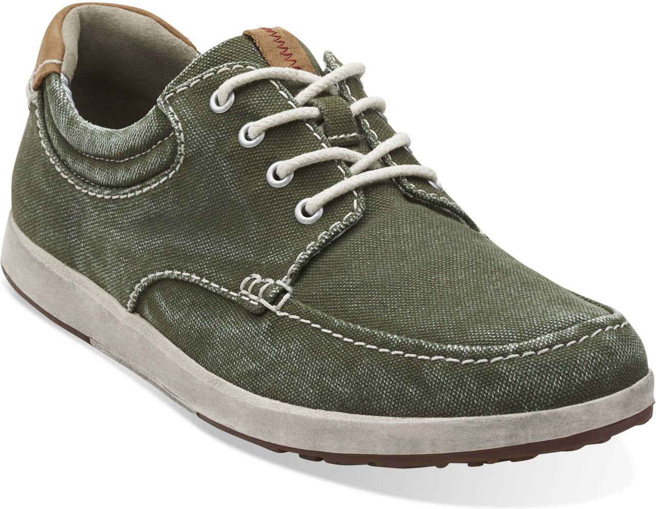 Clarks Norwin Vibe- Green sneakers