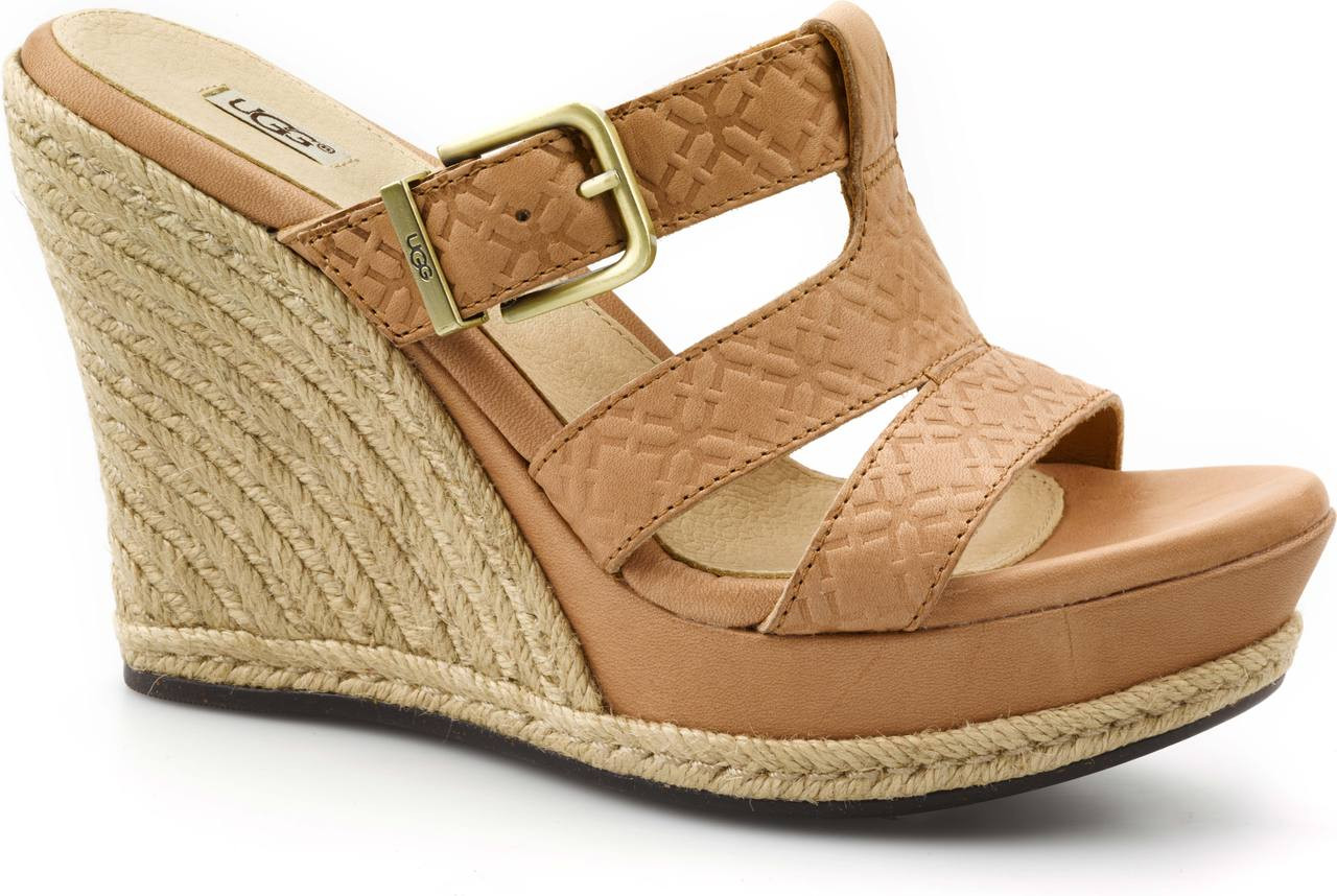 UGG Australia Embossed Wedge Sandals cheap sale purchase 4k5Pkil4