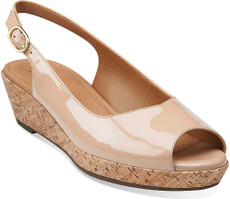 Tan Patent Leather