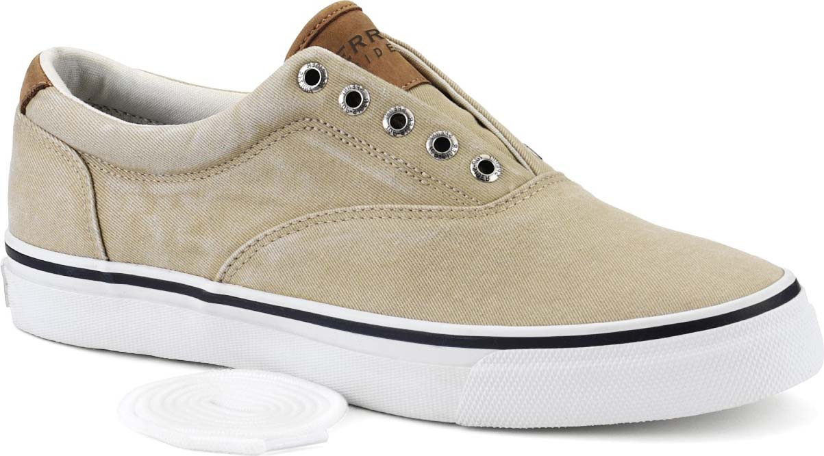 ... Sneakers & Athletic; Sperry Men's Striper CVO Sneaker. Chino Salt  Washed Twill