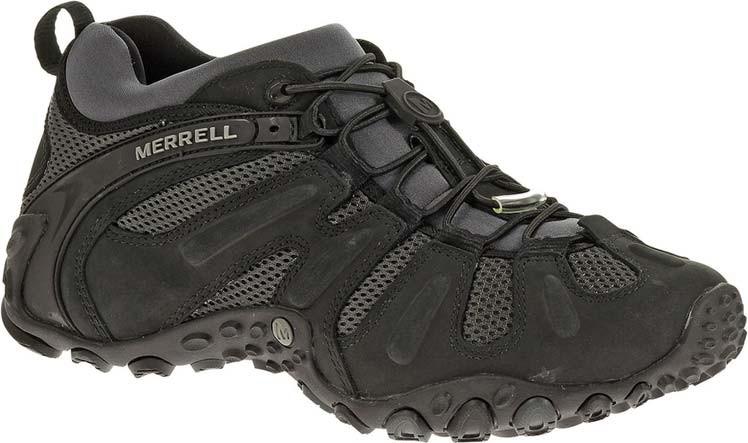... Hiking Shoes; Merrell Men's Chameleon Prime Stretch (Available in  Multiple Colors). Black · Black · Granite ...