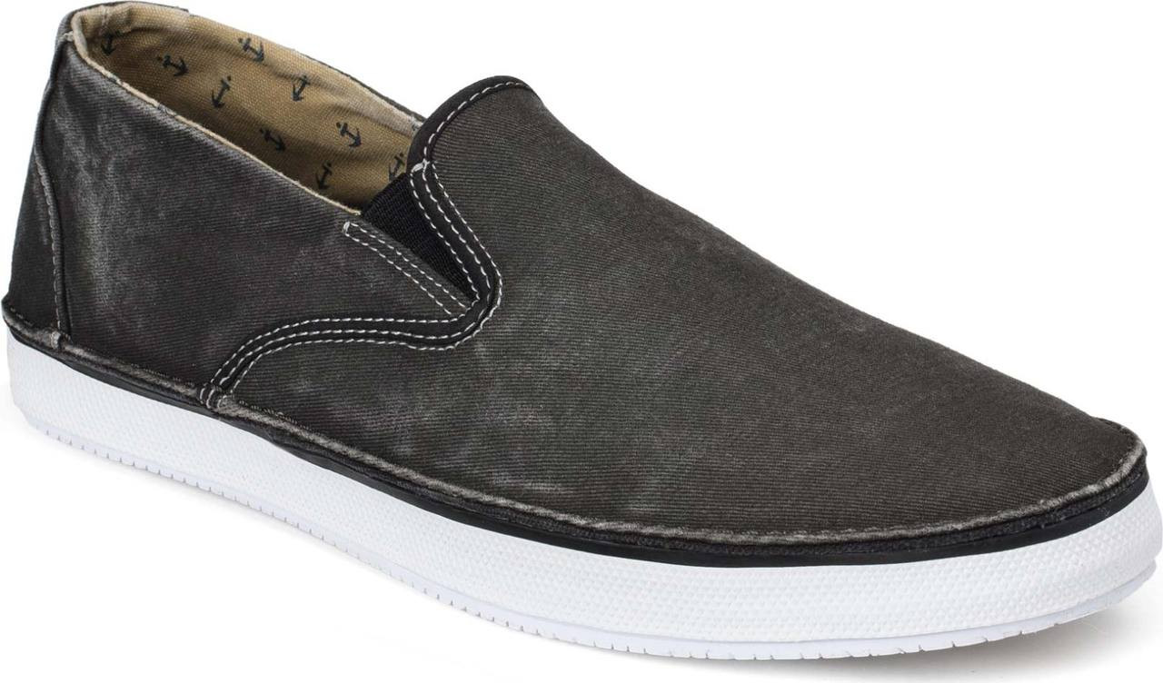 ... Sperry Top-Sider Men's Cruz Slip-On, Black Canvas. Black Canvas